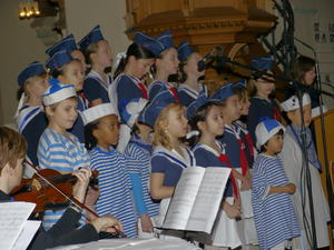 Kindermusical in der Böckinger Stadtkirche