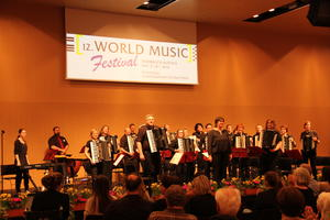 AHON beim World Music Festival in Innsbruck