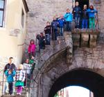 Kinder, Kinder in Rothenburg