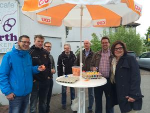 Ostereieraktion des CDU-Stadtverbands am 19.4.2014