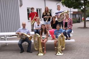 Hohenlohe beim  3. Internationale Jugendmusikcamp