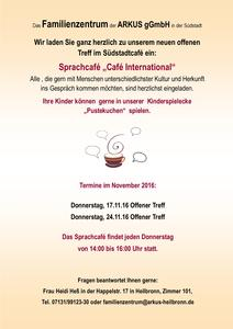 Treff Südstadtcafé - das Sprachcafé 'Café International