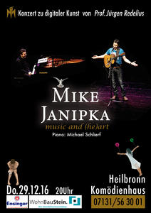 Mike Janipka - 'music & (he-)art' - Konzert zu digitaler Kunst