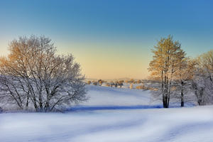 Winterlandschaft in Gaisbach