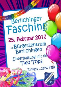 Berlichinger Fasching 2017