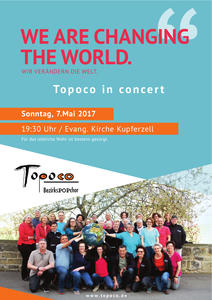 TOPOCO in concert am 7. Mai 2017