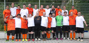 Die befreundeten Teams (BSG in orange)