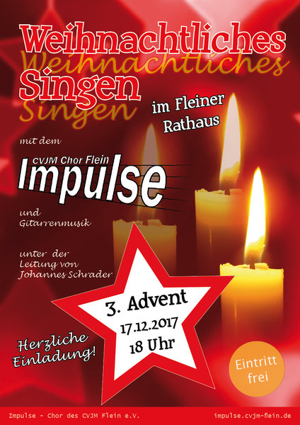 weihnachten, chor, advent, singen, flein, impulse
