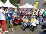 Vespa World Days in Celle/D, Werbung für die Vespa World Days 2018 in Belfast/IR