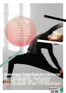 SAMSTAGs YOGA SPECIAL
