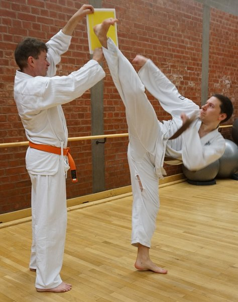 sport, karate, fitness, karateverein, fusstritt