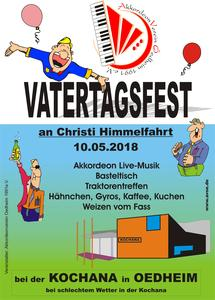 Vatertags-Fest des Akkordeonverein an der Kochana