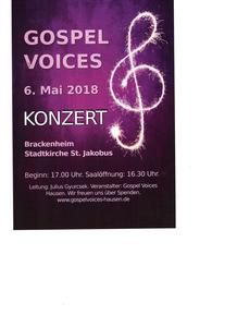 Konzert Gospel Voices 6.5.18
