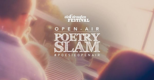 Open-Air Poetry Slam 2018