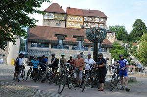 Start am Talheimer Rathausplatz