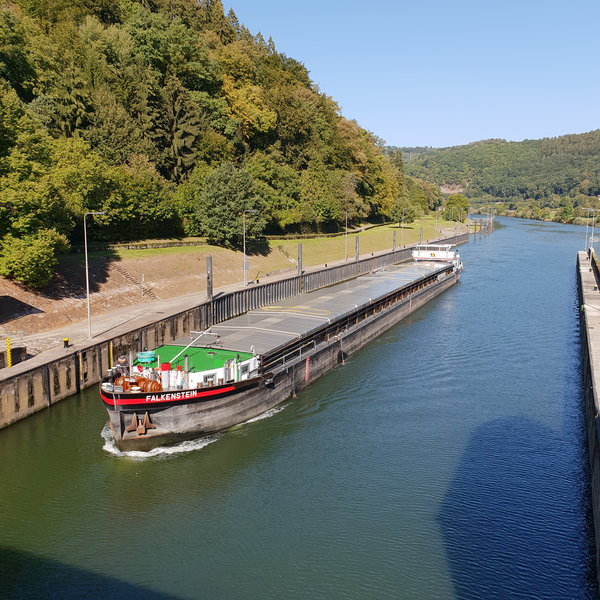 schleuse, lindach-am-neckar