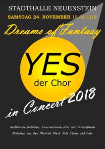 YES der Chor präsentiert 'Dreams of Fantasy'