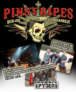 The Pinstripes - Rockabilly in Untergriesheim