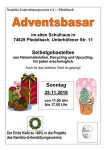 Adventsbasar in Pfedelbach-Oberhöfen