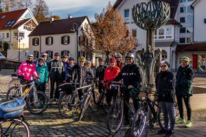 Winterradausfahrt am 25. November 2018