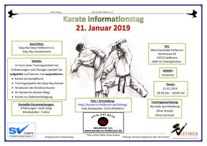 Karate Informationstag