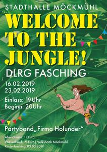 DLRG Fasching Möckmühl 'Welcome to the jungle' am 23. Februar