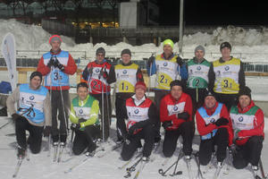 Turner absolvierten Biathlon-Training