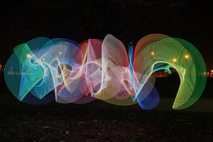 II.Teil Light Painting - malen mit Licht