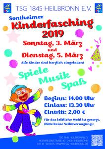 Der Super-Kinderfasching 2019 in Sontheim!