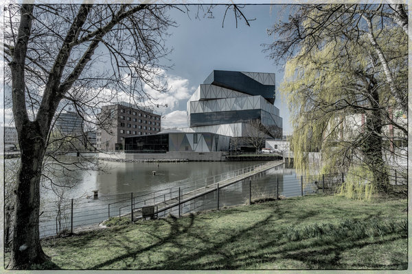 experimenta, hagenbuchersee, neckarturm, modern, science-center