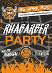 Flyer Rhabarberparty 2019