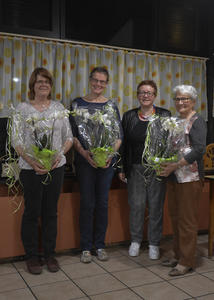 von rechts nach links: Juliane Zeltner, Barbara Eder, Anna-Maria Distel, Beate Vollert