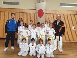 Karate Prüfung in Stockheim