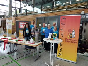 Messestand 60 Plus in der Hardwaldhalle