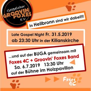 Late Gospel Night mit den Groovin' Foxes