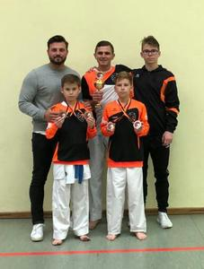 Felix Peschau holt Goldmedaille beim Internationalen Goju-Ryu Cup 2019