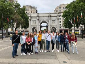 Londonexkursion des Bilingualen Kurses 2019