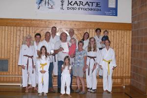 Deutscher Karate Verband-Ehrenmedaille in Gold für Hermann Walter