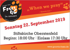 Worship-Konzert der Foxes 4 C in Oberstenfeld