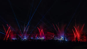 Wassershow - Klassik in the reMix mit Laser