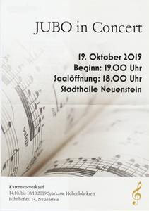 Jubo in Concert am 19.10.2019
