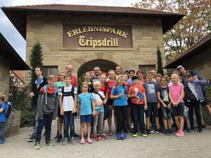 Tennisjugend in Tripsdrill
