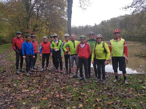 Heilbronner Mountainbiker am Annasee