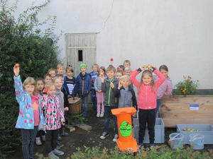 Alle Kinder in freudiger Erwartung
