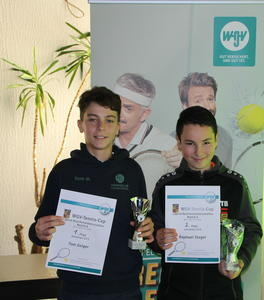 U 13 v. l.: Tom Geiger; Raphael Stagel