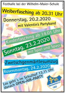 Kinderfasching in Obereisesheim