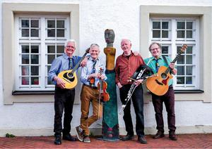 Irish Folk mit dem Matching Ties – Quartett