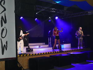 Partyband SNOW beim Amorbacher Fasching