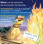 Schülerbibeltage in den Osterferien vom 15. bis 17. April 2020 in Cleebronn